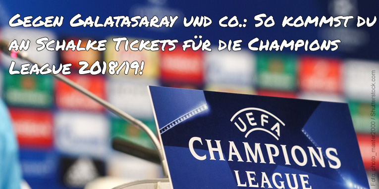 Schalke Europa League Tickets
